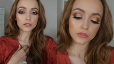 Too Faced Sweet Peach Palette | Makeup Tutorial - YouTube