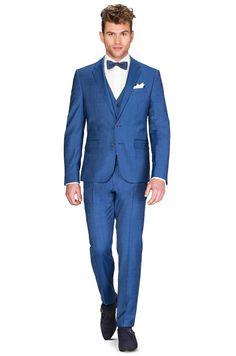 alexander alesi trouwpakken 4724-44778 trouwpak blauw trouwpak 4724-44778 - ROKA