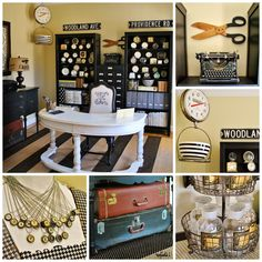 Stylish and Budget-Friendly Organizational Tips for Craft Rooms and Offices