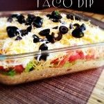 How to Make and Easy 7 Layer Taco Dip