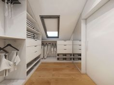 Aranżacje / Pomieszczenie: Garderoba - Myhome