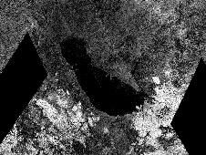 Outline of an Ancient Sea on Titan