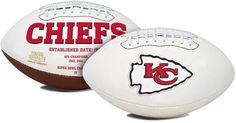 Kansas City Chiefs Football Full Size Embroidered Signature Series