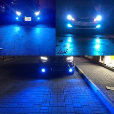 Xotic Tech H10 LED Fog Light Bulb 8000K Ice Blue 9145 9140 COB Chip 2800LM Extremely Super Bright