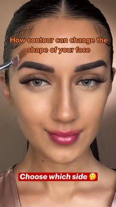 Nose Contouring, Contour Makeup, Eyebrow Makeup, Skin Makeup, Makeup Brushes, Cute Makeup, Simple Makeup, Artist Makeup, Makeup For Black Skin