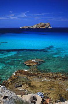 Playas de Comte, Ibiza, Spain