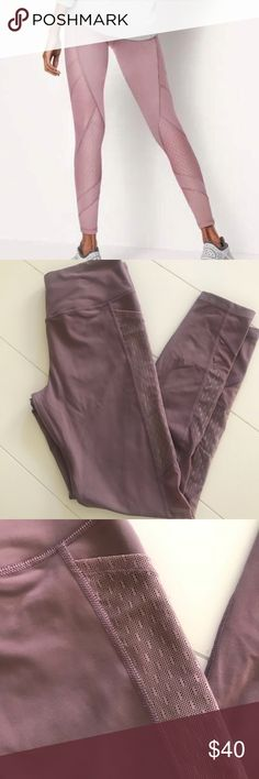 Victoria Secret sport tight mauve full length Victoria secret sport VSX right in mauve size med. these are full length with mesh side pockets to carry phone and keys. Beautiful design. Worn only once in excellent condition no flaws. Victoria's Secret Pants Leggings