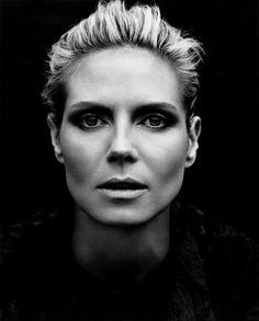 Heidi Klum by Francesco Carrozzini for Vogue Germany June 2009