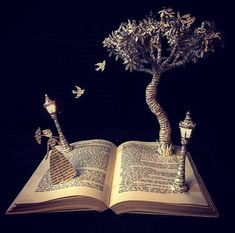 A Tree Grows in Brooklyn-Book Sculpture -Altered Book -Book Lover - First Anniversary -For Him or Her-Paper Gift - Literary Gift - sculpture