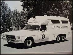 Curbside Classic: HZ Holden One Tonner – A Genuine Grandpa's Axe Hq Holden, Australian Cars, Australian People, Holden Australia, Police Gear, Aussie Muscle Cars, Flower Car, Vintage Medical, Emergency Response
