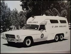 HQ Holden, St Johns Ambulance. (Australian)