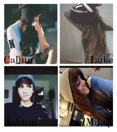"""""""// he takes a photo of you in a beanie \\"""" by bands-save-fans ❤ liked on Polyvore featuring art"""