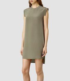 ALL SAINTS - £118. Women's Tonya Lew Dress (Black)