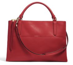 #Coach Borough Bag Red
