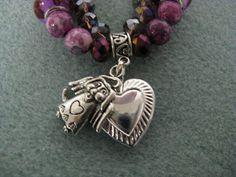 Double Beaded Remembrance Bracelet by WondersByWillow on Etsy, $34.99