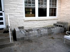 Hometalk :: How to Make a Cinder Block Bench in Less Than 4 Hours!