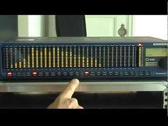 Samson D-1500 Realtime Analyzer - YouTube