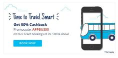 Paytm Bus Ticket : Get 50% Cashback on Bus Booking of Rs 500 or More  http://rechargetricks.in/paytm-bus-ticket-get-50-cashback-on-bus-booking-of-rs-500-or-more.html  #Cashback #Paytm #bus #booking #coupons #offer #coupon #recharge #shopping