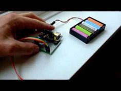 ESP8266 + HC-SR04 + MB102 power supply = Open Garage Door Notifier :) - YouTube