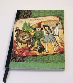 Vintage Wizard of Oz Journal Notebook Travel Diary Eco Friendly Altered via Etsy