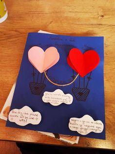 #Ръчно#изработена#картичка#от#мен#за#моя#приятел#балони#от#любов#Handmade#wish#card#made#by#me#for#my#boyfriend.#Long distance#relationship#true#love#paper#craft#diy❤️