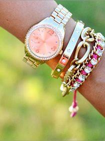 Bangle, watch, bracelets!