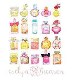 Pretty perfumes