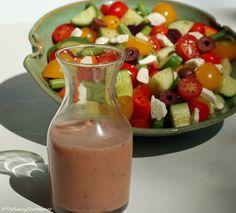 Greek Salad Dressing | The Saucy Southerner