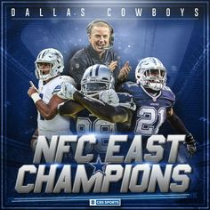 Woooooo! AND...#1 seed in the playoffs and home fied advantage throughout! Let's go Boys! DC4L