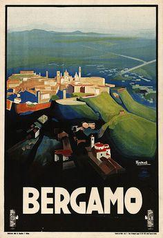 Bergamo - ITALY : my hometown vintage-style