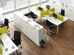 Multiple office workstation Do It.4 Collection by König   Neurath