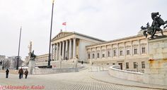 Vienna/Parlament Houses Of Parliament, Vienna Austria, Louvre, City, Building, Places, Travel, Vienna, Viajes