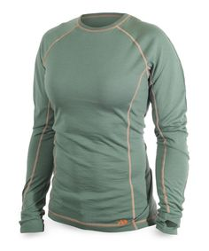 Lupine Long Sleeve Crew (Sage): This merino wool base is the ideal core of your layers system for every hunt in every condition. Outdoor Outfit, Outdoor Gear, Womens Hunting Clothes, Body Heat, Vintage Tees, Hoodies, Sweatshirts, Merino Wool, Female