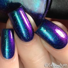 Supernatural Lacquer Cosmic Peacock