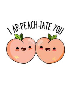 'I Ap-peach-iate You Fruit Food Pun' Greeting Card by punnybone - Clou,clouer Funny Food Puns, Punny Puns, Cute Puns, Food Humor, Food Jokes, Kid Puns, Jokes Kids, Cute Quotes, Funny Quotes
