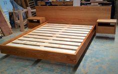 Makers Lane :: Timber Bed Custom Made, Bespoke Furniture made in Australia.