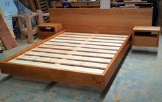 Makers Lane :: Timber Bed Custom Made, Bespoke Furniture made in Australia.