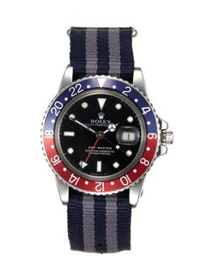 Rolex Stainless-Steel Oyster Perpetual GMT-Master (c. 1979) by Matthew Bain Inc on Gilt.com