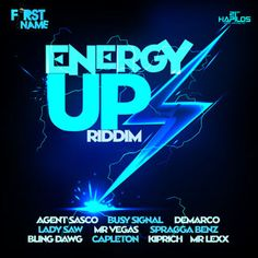 Energy Up Riddim is a brand new dancehall juggling from First Name Music which features big artists such as Assassin aka agent Sasco, Busy s...