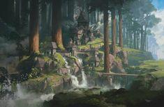 ArtStation V Sina Abbasnia Fantasy art landscapes Fantasy concept art Fantasy landscape
