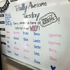 """Tomorrow is TOTALLY AWESOME TUESDAY! #totallyawesometuesday #spreadkindness…"