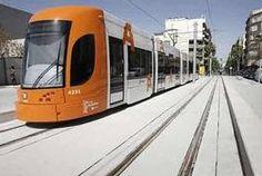 Los primeros tranvías en pruebas comenzaron a circular ayer por la línea 2 del Tram de Alicante #railway #igthrail #rollingstock