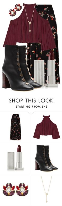 """""""Untitled #389"""" by natsuforyou ❤ liked on Polyvore featuring RED Valentino, W118 by Walter Baker, Lipstick Queen, E L L E R Y, Dolce&Gabbana and EF Collection"""