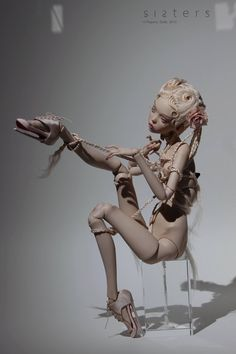 Fantasy | Whimsical | Strange | Mythical | Creative | Creatures | Dolls | Sculptures | Popovysisters   連接點