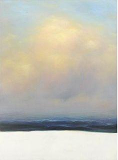 Peter Frie. Sky 12.07 2003 oil on canvas 190 x 140 cm