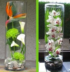 Assortiment floral pour table de mariage 1
