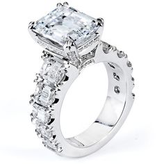 Michael M Engagement Ring F187 (via Michael M Engagement Ring F187 - Samuel Gordon Jewelers | Oklahoma Jeweler)