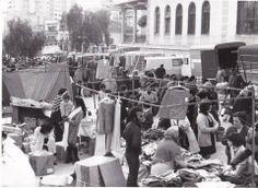 El nostre Alacant d'antany Mercadillo de Campoamor. Febrero de 1972 .Foto de Perfecto Arjones
