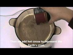 hot chocolate plate tectonics - now this is cool! [supports TEKS 6.10D, 8.9B]