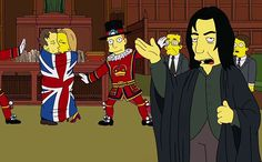 'The Simpsons': Watch Benedict Cumberbatch play the British prime minister AND Snape — EXCLUSIVE VIDEO | EW.com